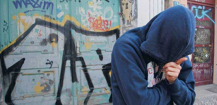 YSO , youth offender services, in youth justice settings, spray paint