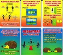 mediation Posters image set