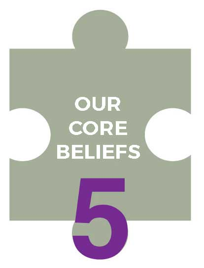 5 core beliefs , education , in education settings, puzzle,
