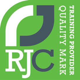 rjc training provider quality mark, logo, home