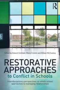 restorative approaches conflict in schools book